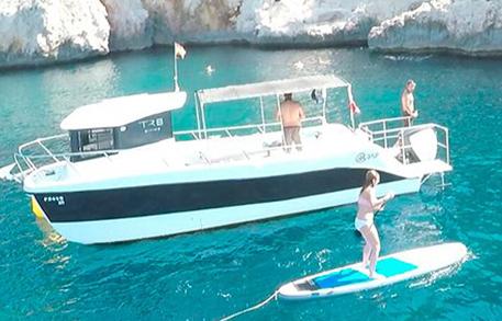 Alquiler barco privado Jávea