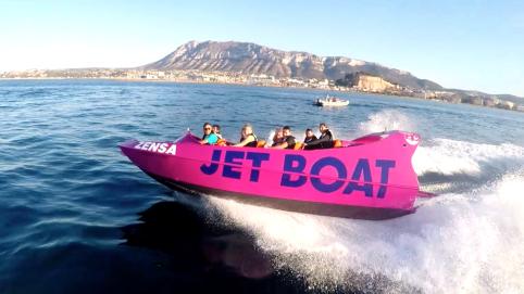 video jet boat