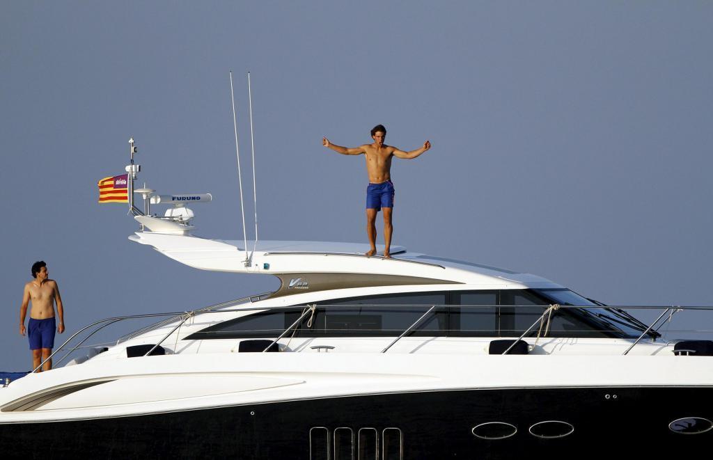 nadal navega mediterraneo