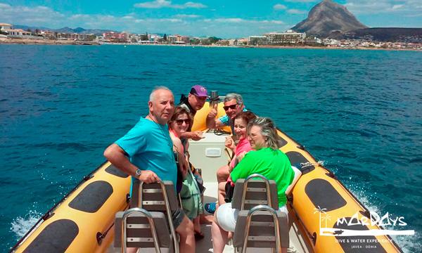 Paseo en barco, speed tour